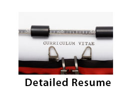 button for resume