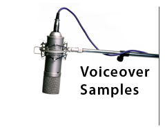 button for voiceover samples